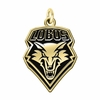New Mexico Lobos 14KT Gold Charm