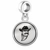 New Mexico State Aggies Border Round Dangle Charm