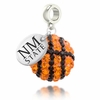 New Mexico State Aggies Crystal Drop Charm