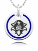 New Orleans Privateers Round Enamel Charm