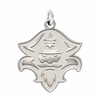New Orleans Privateers Natural Finish Charm