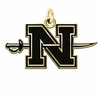 Nicholls State Colonels 14KT Gold Charm