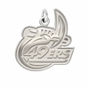 North Carolina Charlotte 49ers Natural Finish Charm