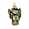 North Carolina State Wolfpack 14KT Gold Charm