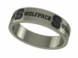 North Carolina State Wolfpack Stainless Steel Ring