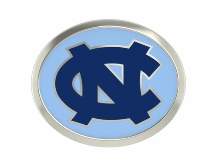North Carolina Tar Heels Enamel Bead