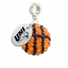 Northern Iowa Panthers Crystal Drop Charm