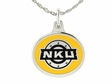 Northern Kentucky Silver Enamel Charm