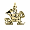 Notre Dame Fighting Irish 14KT Gold Charm