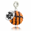 Notre Dame Fighting Irish Crystal Drop Charm
