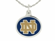 Notre Dame Fighting Irish Enamel Charm