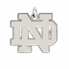 Notre Dame Fighting Irish Natural Finish Charm