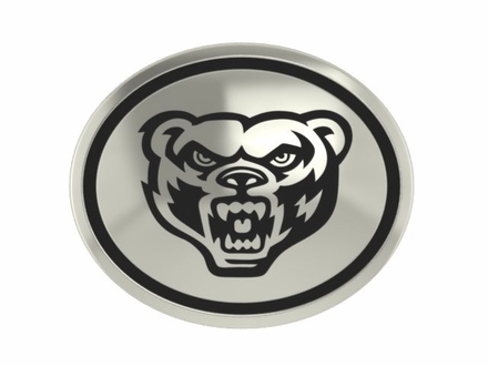Oakland Golden Grizzlies Antiqued Bead