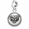 Oakland Golden Grizzlies Border Round Dangle Charm