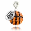 Oakland Grizzlies Crystal Drop Charm