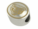 Oakland Golden Grizzlies Enamel Bead