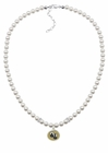Oakland University Grizzlies Pearl Necklace