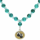 Oakland University Turquoise Necklace