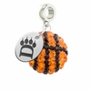 Ohio Dominican Panthers Crystal Drop Charm