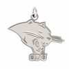 Ohio Dominican Panthers Natural Finish Charm