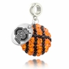 Ohio State Crystal Drop Charm