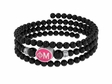 Phi Mu Sorority Wire Bracelet