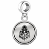 Purdue Boilermakers Border Round Dangle Charm