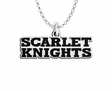 Rutgers Scarlet Knights Word Mark Charm