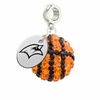 Saginaw Valley State Cardinals Crystal Drop Charm