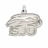 Saint Joseph's Hawks Natural Finish Charm
