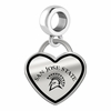 San Jose State Spartans Border Heart Dangle Charm