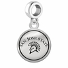San Jose State Spartans Border Round Dangle Charm