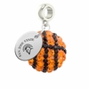 San Jose State Spartans Crystal Drop Charm