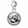 Slippery Rock The Rock Border Round Dangle Charm