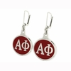 Sorority Leverback Earrings