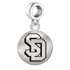 South Dakota Round Dangle Charm