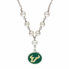 South Florida Bulls Pearl Necklace