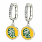 Southeastern Louisiana Lions CZ Hoop Earrings