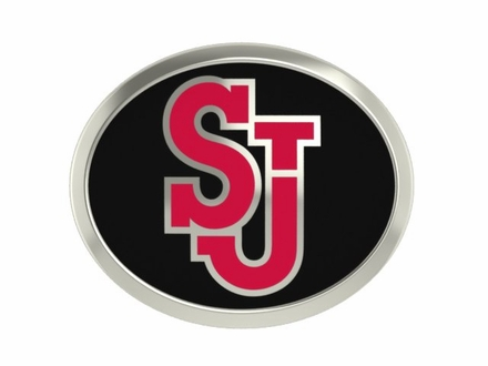St. Johns Red Storm Enamel Bead