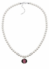 St. Johns Red Storm Pearl Necklace
