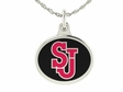 St. Johns Red Storm Silver Charm