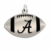 Sterling Silver Football Charms