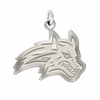 Stony Brook Seawolves Natural Finish Charm