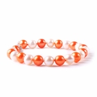Syracuse Orange Spirit Pearl Bracelet