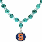Syracuse Orange Turquoise Necklace