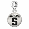 Syracuse Round Dangle Charm