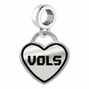 Tennessee Volunteers Border Heart Dangle Charm
