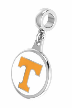 Tennessee Volunteers Enameled Drop Charm