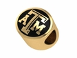 Texas A&M Aggies 14kt Gold Bead
