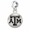 Texas A&M Round Dangle Charm